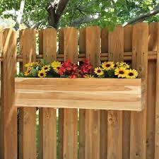 hanging flower pots for fences garden pinterest hanging
