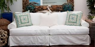 Denim Slipcover Sofa by Slipcovered Furniture Our Boathouse