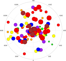 Empty World Map Ncl Graphics Scatter Plots
