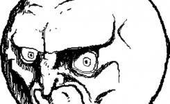 Different Meme Faces - set different crazy faces internet memes stock vector 679572145
