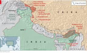 Map Of India And China by Seeking The Nixon Spirit