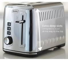 Two Slice Toaster Reviews Buy Breville The Perfect Fit For Warburtons Vtt570 2 Slice Toaster