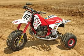 dirt wheels magazine project atv honda atc250r