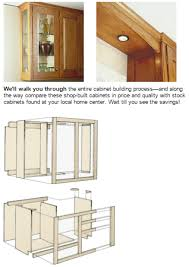 how to build kitchen cabinets free plans pdf plans now woodworking pdf plans to build your own custom