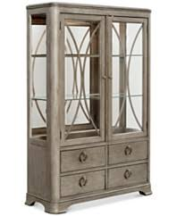 What To Put In A Curio Cabinet Curio Cabinets And China Cabinets Macy U0027s