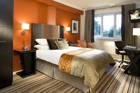 Curtain Color For Orange Walls Inspiration Orange Bedroom Curtains Bedroom Bedrooms Charming Bedroom Color