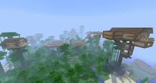 Treehouse Design Software by Minecraft Img For U003e Minecraft Treehouse Village Seed Mincraft