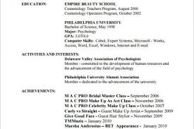 Cosmetologist Resume Example by Resume Samples Resume Samples Database Hair Stylist Resume Samples