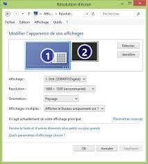 Laffichage De Lcran De Mon Pc Est Renvers Windows 8 Gérez L Affichage En écran