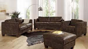 sofa garnitur 3 teilig nebraska ecksofa eckgarnitur sofa lederoptik eckcouch 3