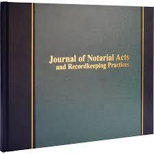 photo album 8 5 x 11 wilson jones journal of notarial acts 8 5 8 x 11 1 8 18 lines