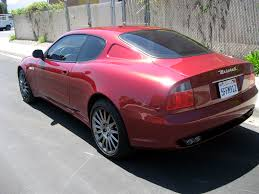 maserati burgundy 2003 maserati coupe sold 2003 maserati cambiocorsa coupe