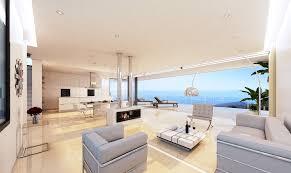contemporary villas with sea view in nueva andalucia abc