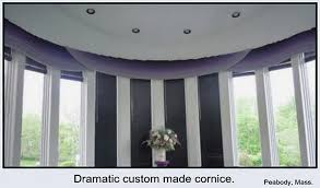 Custom Cornices Contemporary Window Treatments Custom Cornices Modern Window