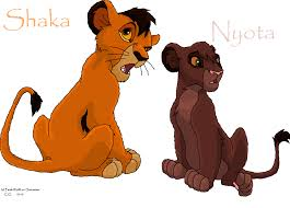 lion king 3 shaka nyota faith wolff deviantart