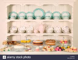 vintage china vintage china teacups with cakes stock photo 35274986 alamy