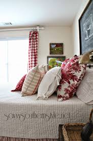 Pottery Barn Farmhouse Bedroom Set Savvy Southern Style Mid Summer Farmhouse Style Guestroom