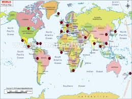 Algeria World Map 100 Puerto Rico World Map Maritime Threats And Incidents