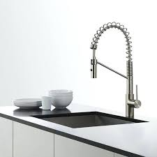 sophisticated kraus kitchen faucet modern single lever commercial