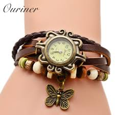 bracelet watches online images High quality best selling women leather bracelet watch women dress jpg