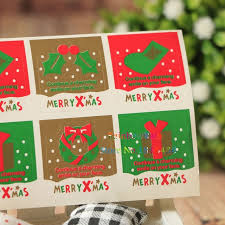 christmas nuts aliexpress buy christmas gifts sealing sticker cookie