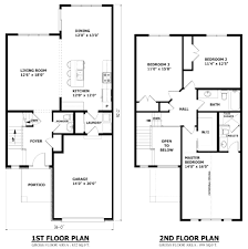 Floor Plans For Bedroom With Ensuite Bathroom Simple 2 Story Small House Floor Plans Corglife