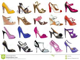 women s shoes collection of women s shoes stock photo image of out beautiful