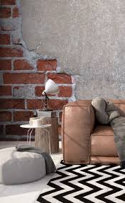 18 best brick effect wallpaper images on pinterest photo brick and render wall mural