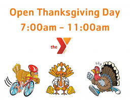 thanksgiving week fitness schedule east family ymca