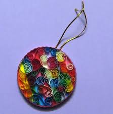daydreams quilled ornaments
