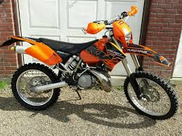 ktm exc 250 2 stroke enduro bike road legal motocross 125 450 sxf