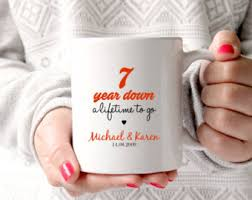 7 year anniversary gift ideas for 7 year anniversary etsy