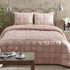 camille blush pink quilt set teton timberline trading