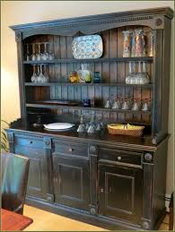 china cabinet black china cabinet hutch buffet oak and wooden