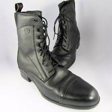 womens size 12 paddock boots ariat frostbiter lace paddock boots childs black size 12 ebay