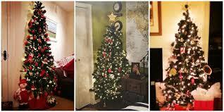 half christmas tree half christmas tree trend half tree trend