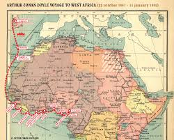 Map West Africa by File Map 1881 1882 West Africa Jpg The Arthur Conan Doyle
