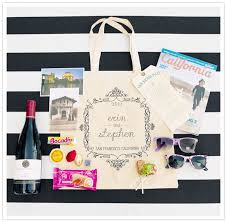 wedding guest bags 11 best images about welcome bags swag merci new york on