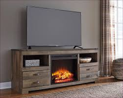 tv stand with electric fireplace and shelves ashley furniture