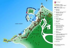 Tahiti Map World by Intercontinental Tahiti Resort Truetahitivacation Com