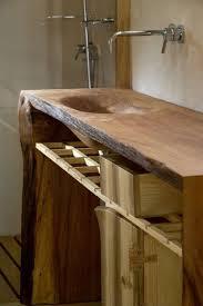 mobile bagno grezzo arredi bagno legno naturale foto 3 40 design mag