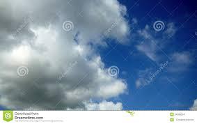 K He M El Kaufen Witte De Tijdtijdspanne Van De Wolken Blauwe Hemel 4k Stock