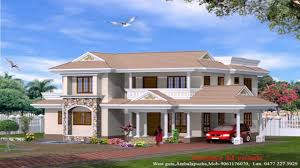 3d Home Design Images Of Double Story Building Kerala Style Small House Plans Photos Youtube
