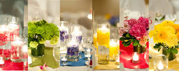 Wedding Centerpieces Floating Candles And Flowers by Floating Candle Centerpieces Blue Wedding Centerpieces Floating
