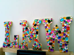 bejeweled letters alll things yummy u0026 fun