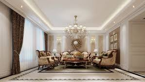 american style living room sofa backdrop decoration interior design