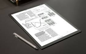 sony si e social sony revs its digital paper tablet with screen and interface