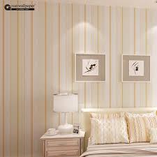 Schlafzimmer Tapete Blau Online Shop Top Qualität Stoff Wandtapete Modernen Gestreiften