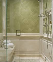 Shower Room by Simple Soft Green Bathroom Decor With Shower Room And Green Wall