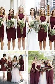best 25 bridesmaid dresses marsala ideas on pinterest